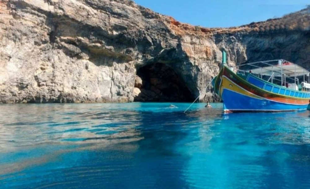 Hire Motor boat with or without skipper Traditional Maltese Luzzu Boat Saint Julian's