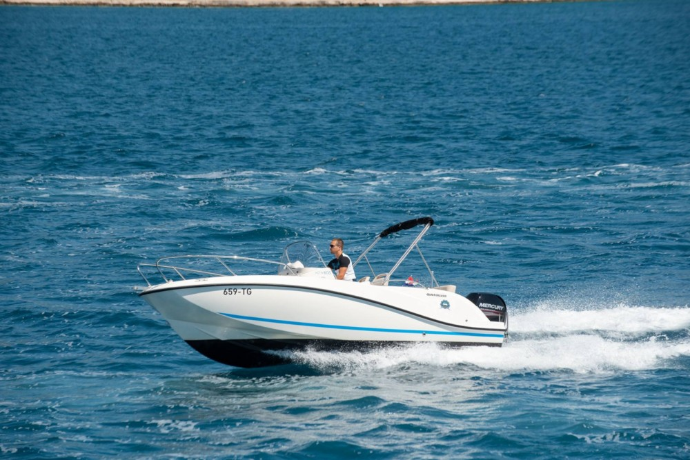 Rent a Quicksilver Activ 605 Open Trogir