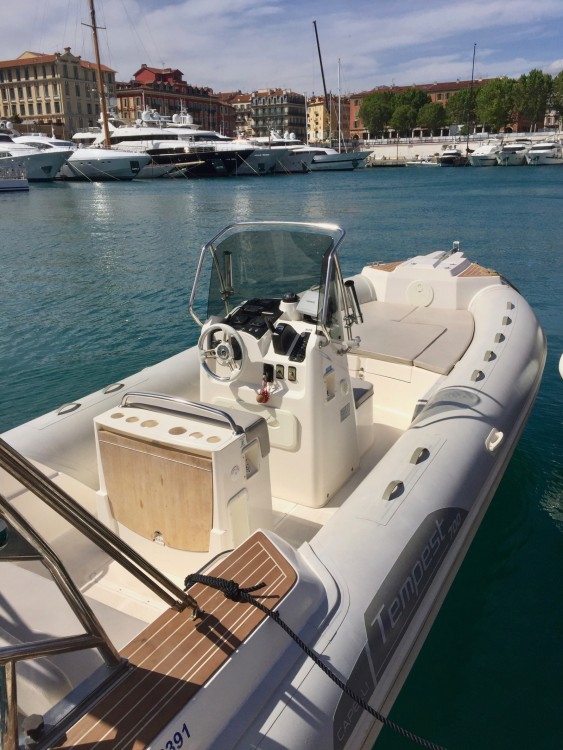 Hire RIB with or without skipper Capelli Nice