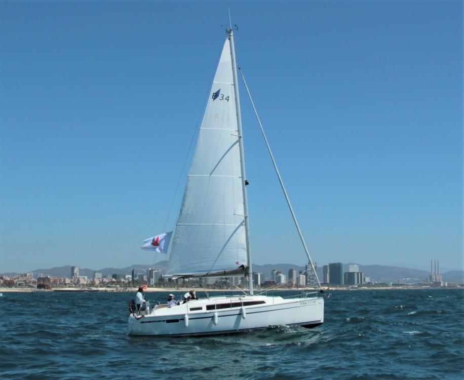 Boat rental Barcelona cheap BMB 34