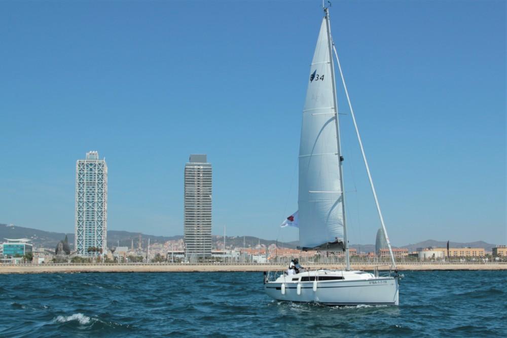 Rental Sailboat in Barcelona - Bavaria BMB 34