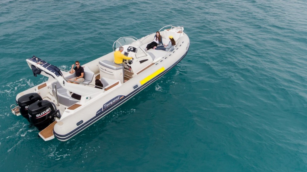 Boat rental Palma cheap Tempest 1000 Sun