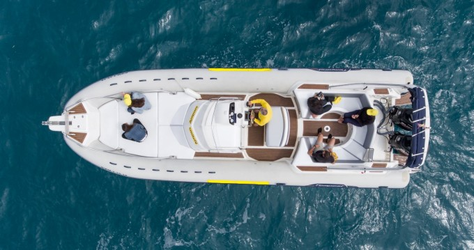 Boat rental Palma de Mallorca cheap Tempest 1000 Sun