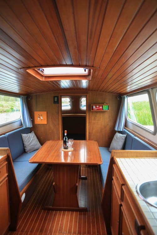 Rental Canal boat in Rohan - Motortjalk Bies