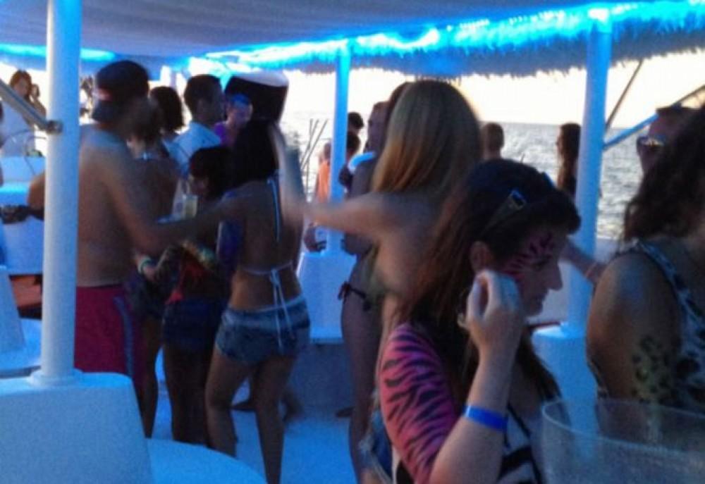 Boat rental Catamaran DE EVENTOS  in Ibiza on Samboat