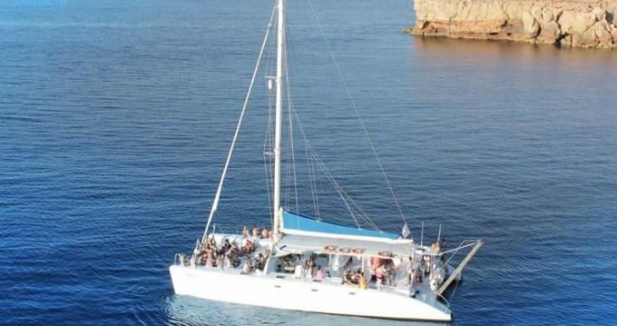 Rental Catamaran in Ibiza Town - Catamaran DE EVENTOS