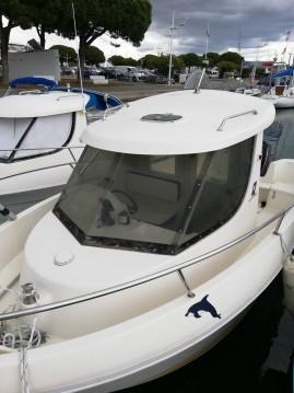 Rental Motorboat in Port-Camargue - Quicksilver Quicksilver 620 Timonier