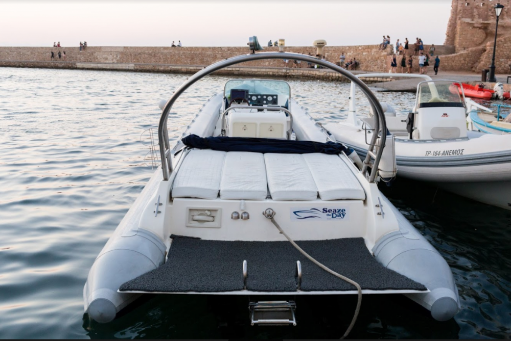 Hire RIB with or without skipper Cobra Chania Municipality