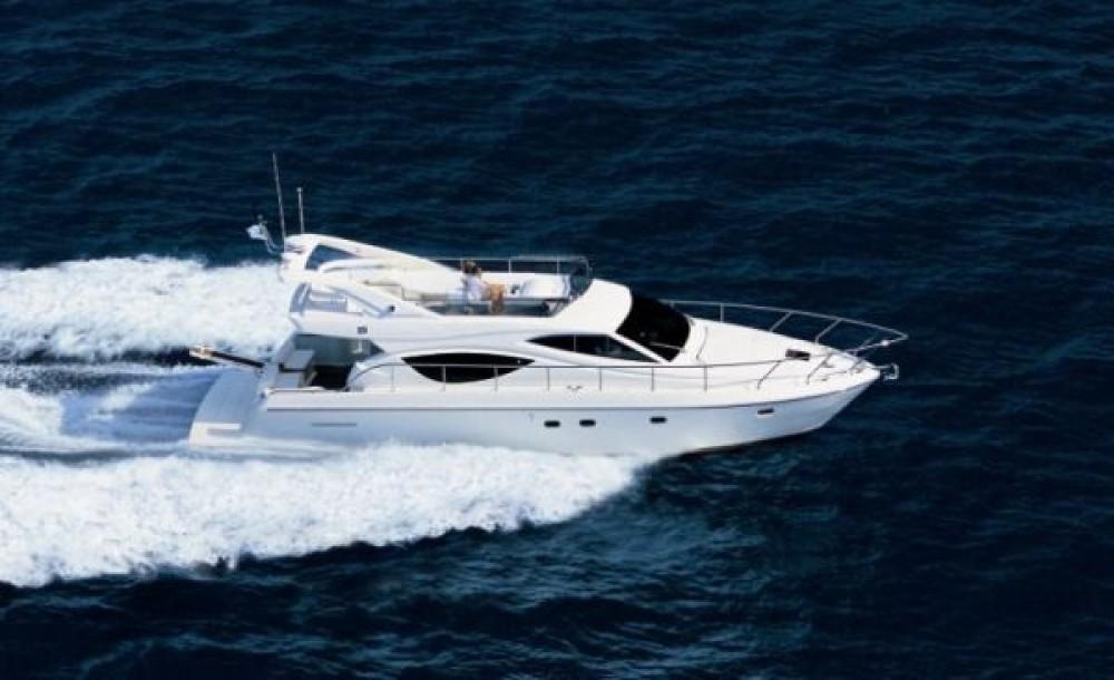 Boat rental Marseille cheap Ferretti 53