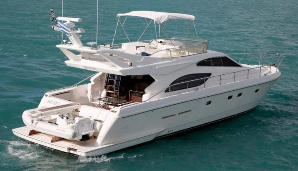 Rental Motorboat in Marseille - Ferretti Ferretti 53