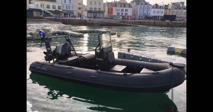 Hire RIB with or without skipper Highfield Le Palais