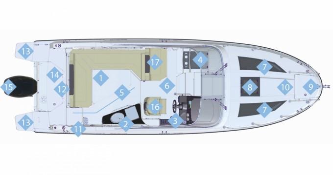 Quicksilver Activ 805 Cruiser between personal and professional Portals Nous