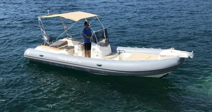 Boat rental Propriano cheap Capelli 700 Sun