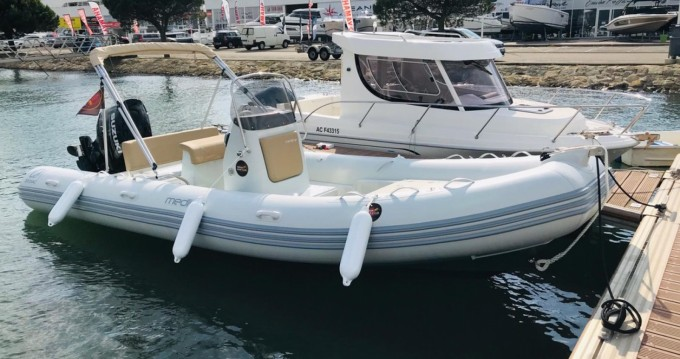 Hire RIB with or without skipper Zodiac Arcachon
