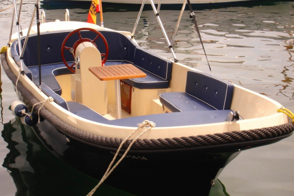 Boat rental Torrevieja cheap Corsiva 620