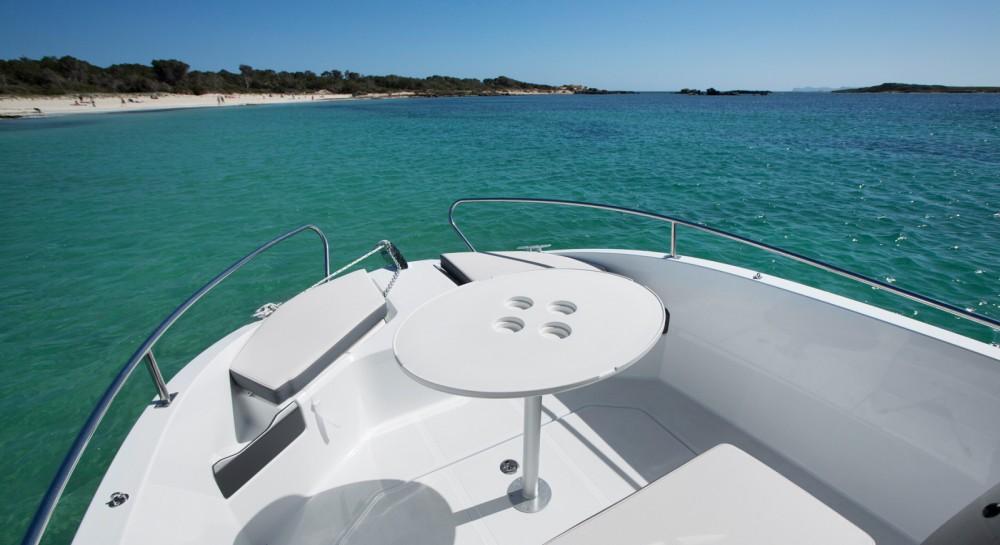 Boat rental Palamós cheap Flyer 5.5 SPACEdeck