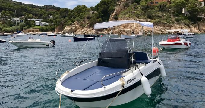 Rental Motorboat in Fornells - Moody Remus 450