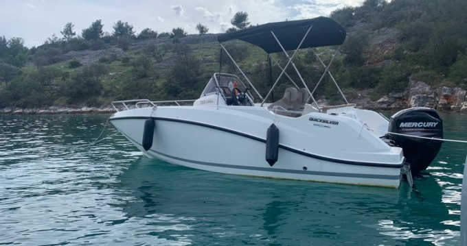 Rental Motorboat in Split - Quicksilver Open