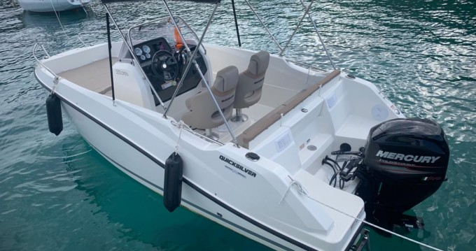 Boat rental Quicksilver Open in Split on Samboat