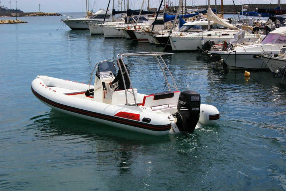 Rental RIB Arkos with a permit