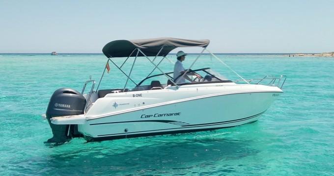 Boat rental Jeanneau Cap Camarat 6.5 BR in Santa Eulària des Riu on Samboat