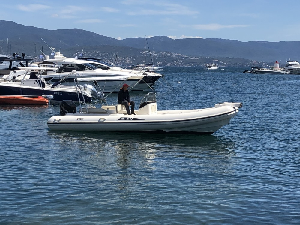 Rental RIB in Ajaccio - Bsc BSC 75