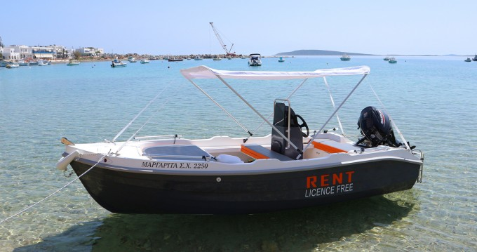 Rental Motorboat in Paros Island - The Sailor's Ride 450