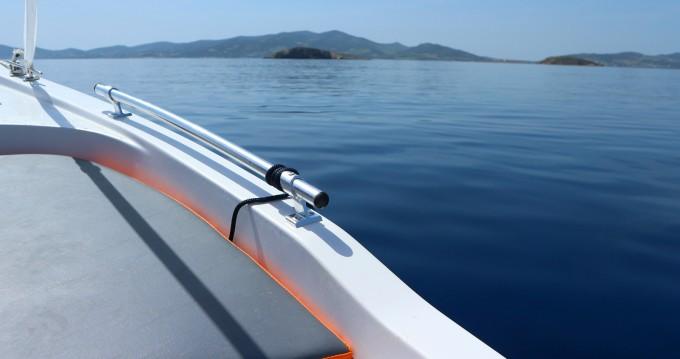Boat rental Paros Island cheap 450