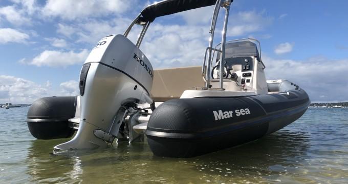 Boat rental Cap Ferret cheap Marsea CM 120