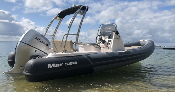 Hire RIB with or without skipper Marsea Cap Ferret