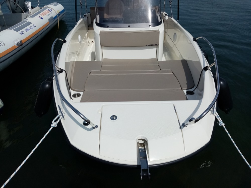 Hire Motorboat with or without skipper Quicksilver Grad Pula