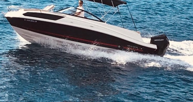 Motorboat for rent Badia de Santa Ponça at the best price
