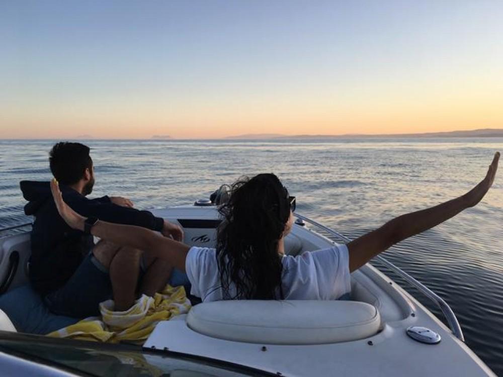 Boat rental Estepona cheap 264fsx