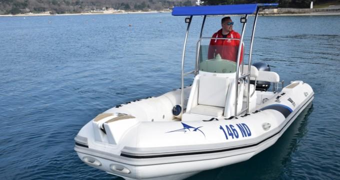 Rental RIB in Novigrad - Tiger Dive Master 600