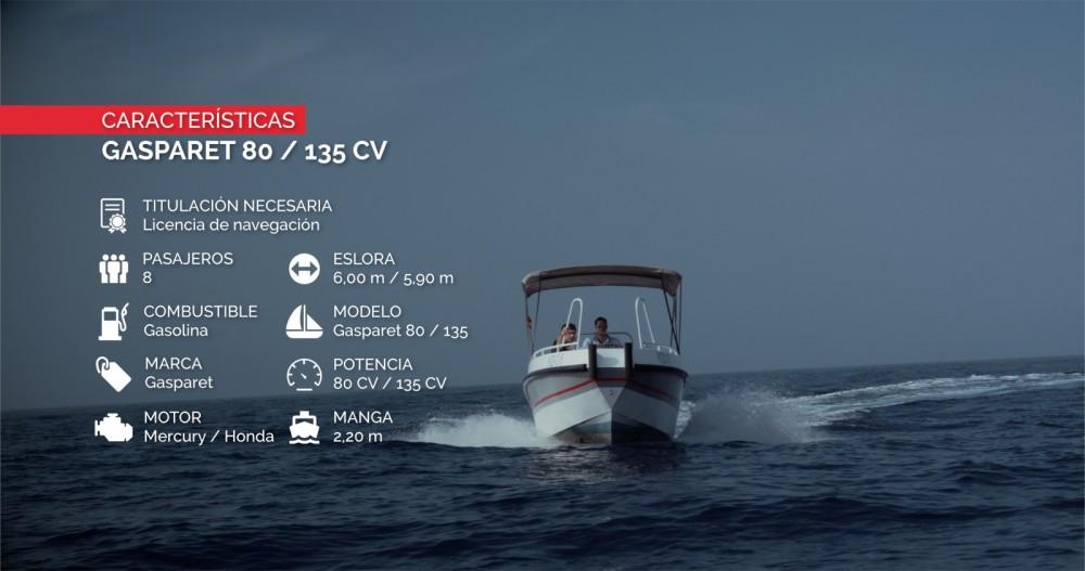 Rental yacht Altea - Gasparet Gasparet 80 / 135 on SamBoat