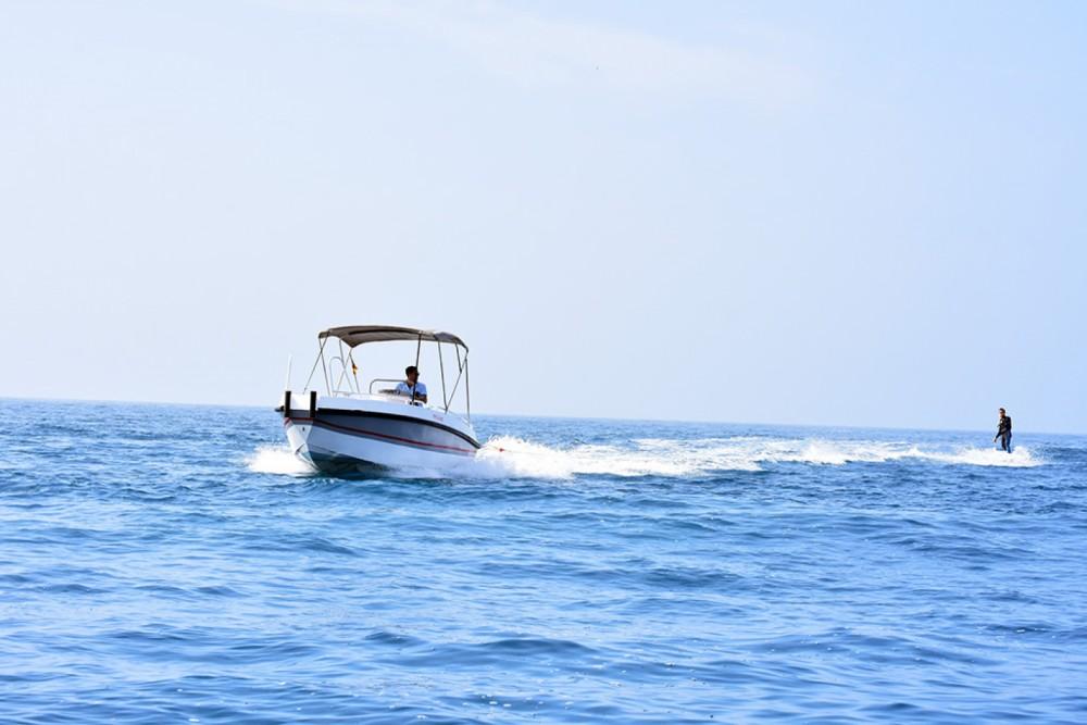 Boat rental Altea cheap Gasparet 80 / 135