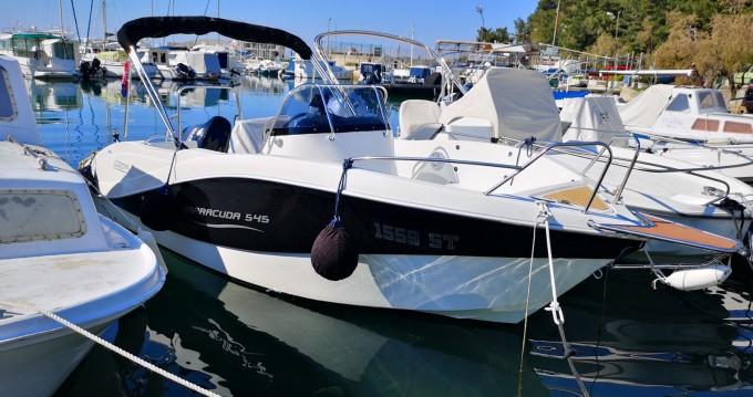 Okiboats Barracuda 545 Open between personal and professional Split