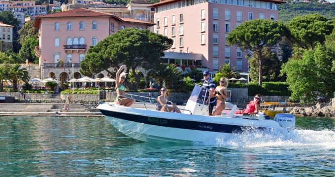 Hire Motorboat with or without skipper Allegra Boats Opatija