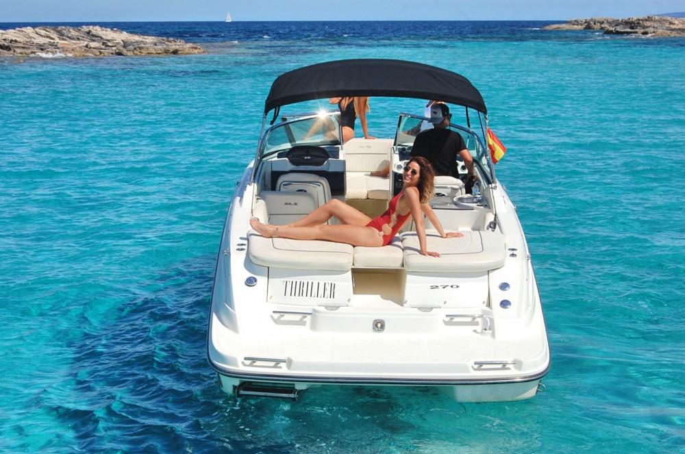 Rent a Sea Ray 270 SLX Ibiza