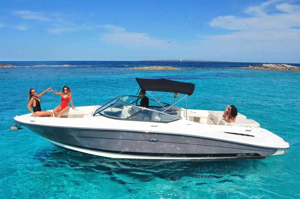 Sea Ray 270 SLX between personal and professional Ibiza