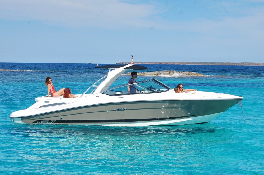 Rental Motorboat in Ibiza - Sea Ray Sea Ray 270 SLX BAD
