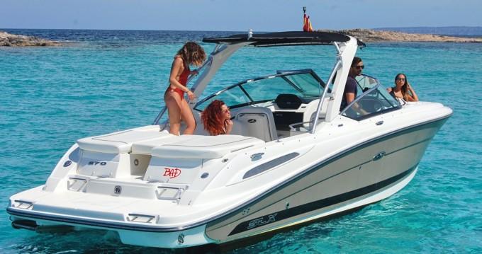Boat rental Ibiza Island cheap Sea Ray 270 SLX BAD