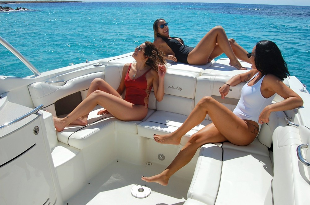 Hire Motorboat with or without skipper Sea Ray Ibiza