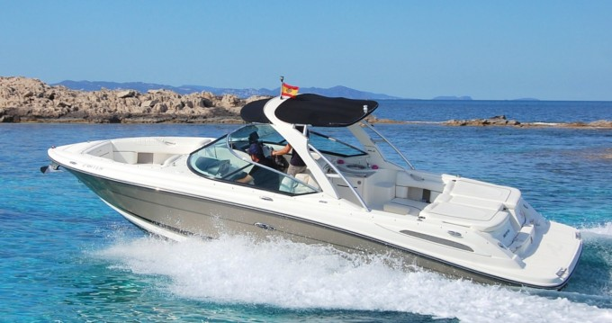 Hire Motorboat with or without skipper Sea Ray Ibiza Island