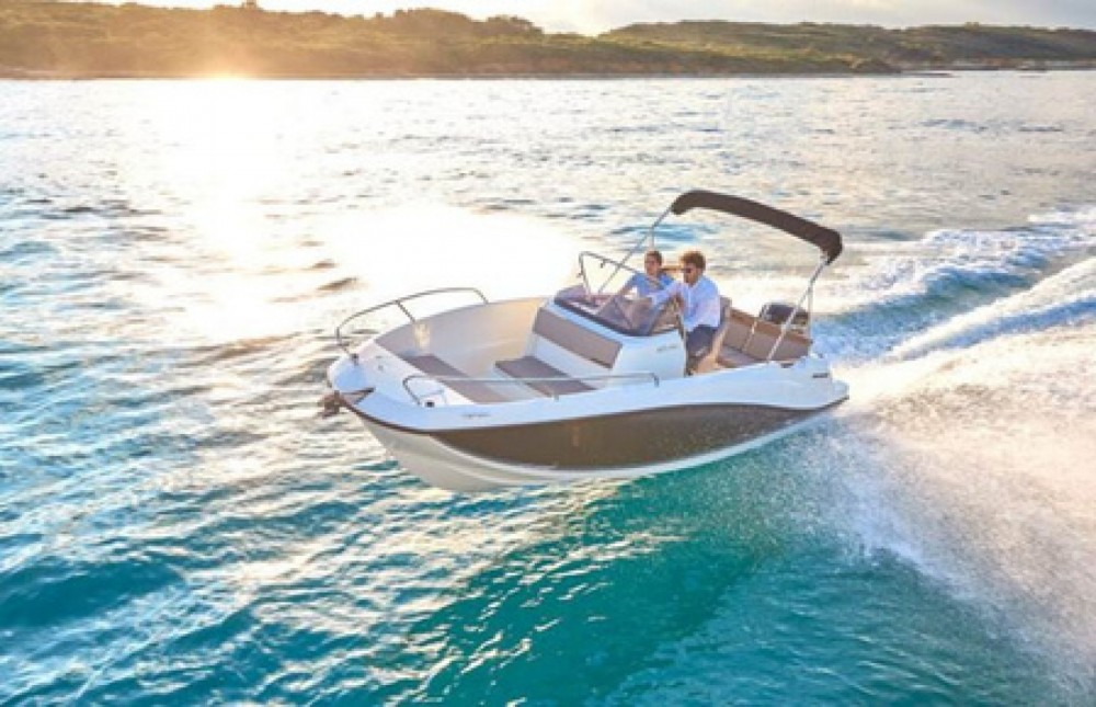 Quicksilver 605 between personal and professional Trogir