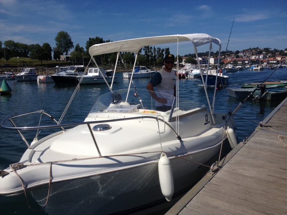 Rental Motorboat in Capbreton - Quicksilver Quicksilver 460 Cabine