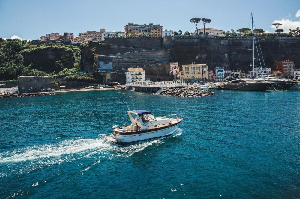 Rental Motor boat Di Luccia 28 with a permit