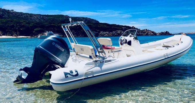 Boat rental Nuova Jolly Blackfin 21 Elegance in Belvédère-Campomoro on Samboat