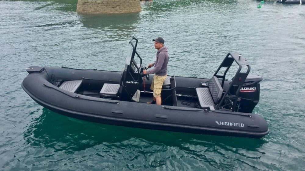 Boat rental Highfield Ocean Master 540 in Le Palais on Samboat