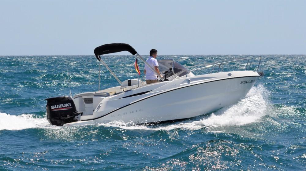Boat rental Barcelona cheap 2251 MKII